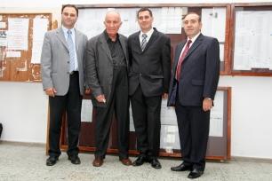 Conf. univ. dr. Alexandru Neagoe, Academician Dinu C. Giurescu, Dr. Marius Silveșan, Pastor, Elisei Pecheanu