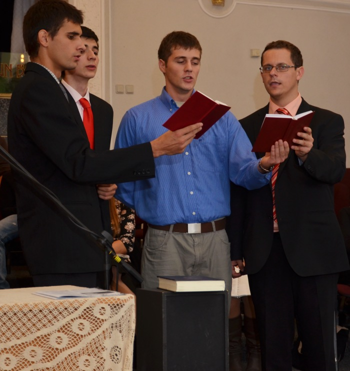 Grup studenti ITBB(Lăpugean, Iosif, Timootei Popa, Raich Robert)