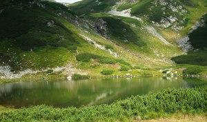 Lacul Lala Mare Muntii Rodnei foto Lucian Claudiu Grapini