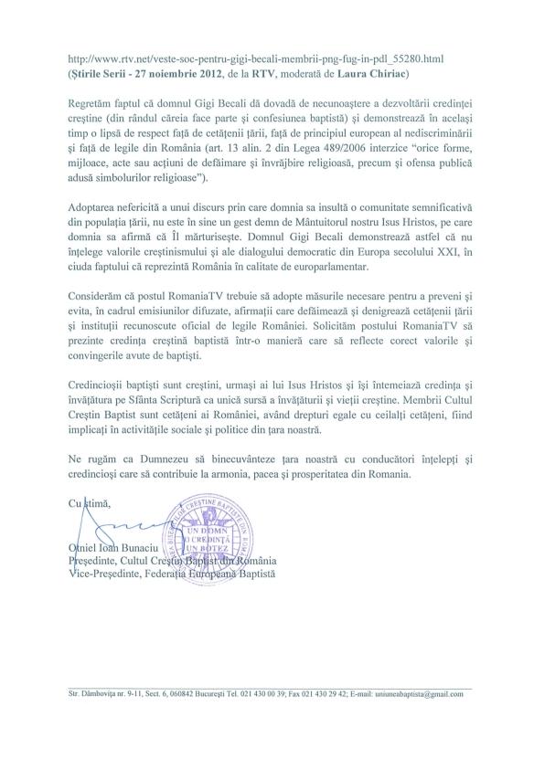 Sesizare din partea Cultului Crestin Baptist din Romania_002