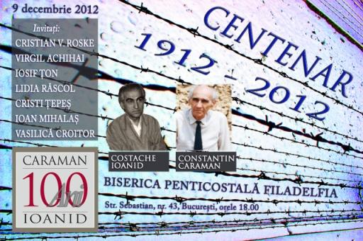 afis-centenar Ioanid, Caraman