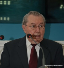 Iosif Țon la Centenarul Ioanid&Carman - dec 2012