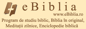 eBiblia - program de studiu biblic pentru Android, IOS și Blackberry