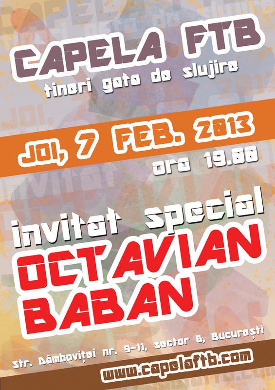 Octavian Baban la Capela FTB - 7 febr 2013