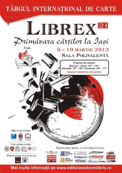 Targul international de carte Librex Iasi 2013