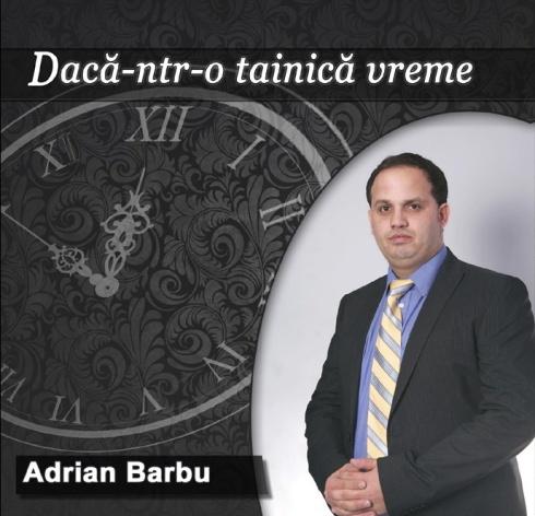 Adrian Barbu copertă album 2
