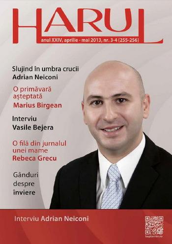 Revista Harul 3-4 -2013  Coperta 1