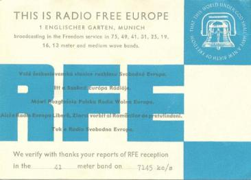 RFE (Radio Free Europe - Radio Europa Liberă) - tismaneanu.wordpress.com - 7.04.2013