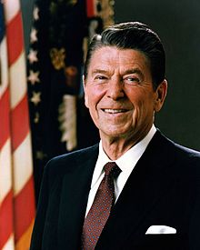 Official Portrait of President Ronald Reagan 1981 (en.wikipedia.org - 5.05.2013)