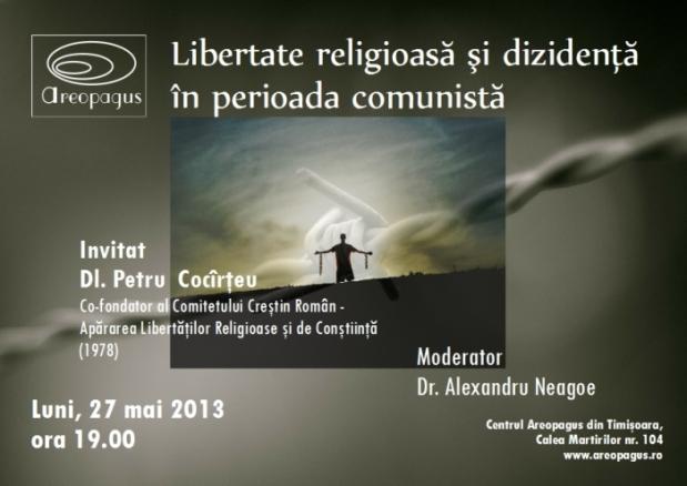 Petru Cocarteu, Libertate religioasa si disidenta in Romania comunistajpg