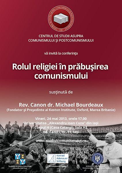 Rolul religiei în prăbușirea comunismului