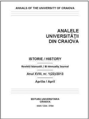 Anale Istorie Craiova 1-2013