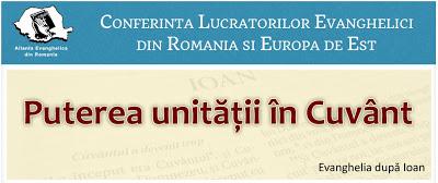 Conferință AER - Puterea Unității în Cuvânt