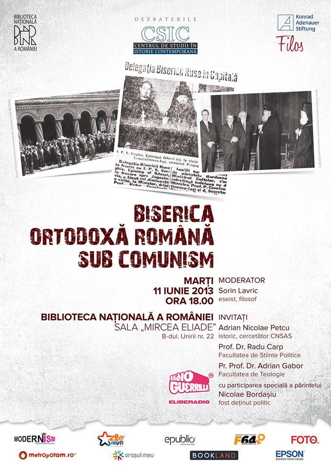 CSIC Biserica Ortodoxă Romînă sub comunism
