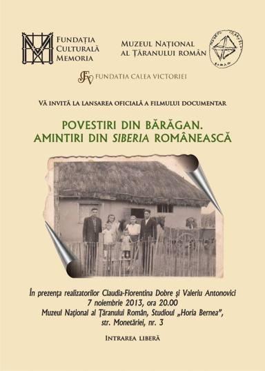 Invitatie film Amintiri din Bărăgan