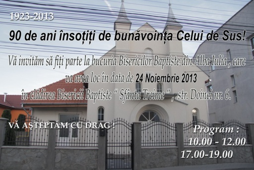 Alba  Iulia-24 noi 2013 serbare 90 de ani