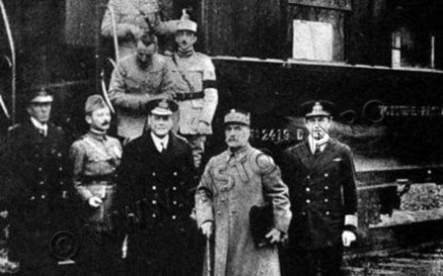 Armistițiul dintre Germania și Aliați - 11 oiembrie 1918 (historia.ro)