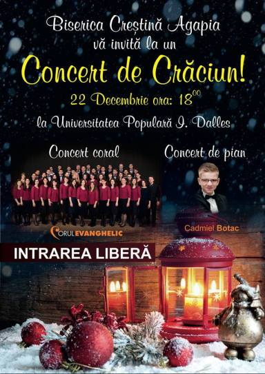 Concert de Crăciun la Biserica Agapia (2013)