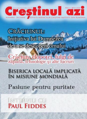 Revista Crestinul Azi Nr. 6-2013