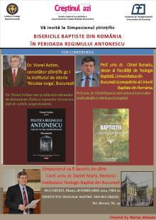 Afis Simpozion stiintific la ITBB - 18.02.2014