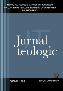 Jurnal Teologic, Nr. 1-2014