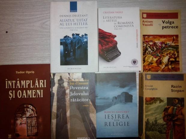Cărți cumpărate de la Kilipirim - 29 octb 2014
