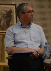 Corneliu Constantineanu la Biblioteca Națională a României - iunie 2014