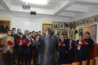 Corul studentilor ITBB (17.12.2014)