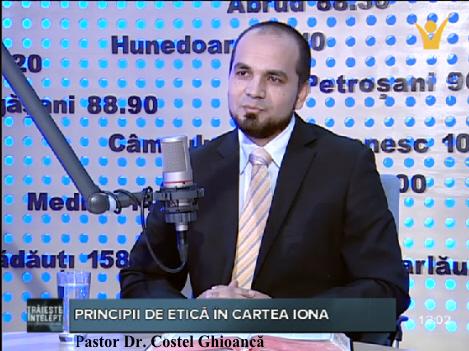 Costel Ghioancă la Emisiunea Trăiește înțelept (26.01.2015)