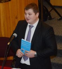 Ovidiu Rusnac la lansarea cărții Ambasadorul