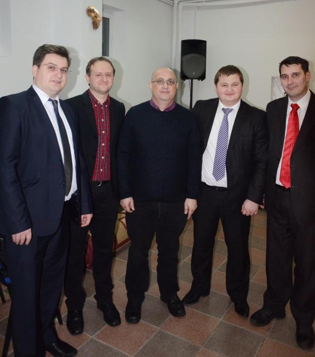 Cătălin Dupu, Daniel Andreșoi, Cătălin Vasile, Ovidiu Rusnac, Marius Silveșan