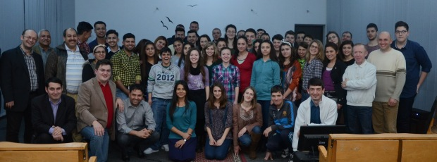 DSC_9114  Participanții la Conferinta Mai este viata tinerilor minunată
