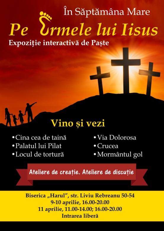 Săptămâna MAre pe urmele lui Iisus