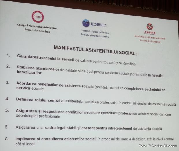 Manifestul Asistentului social