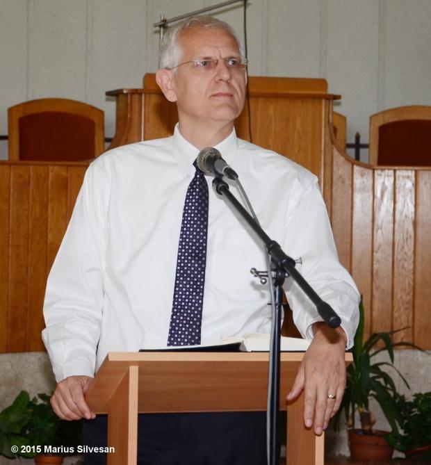 Pastor Viorel Iuga la BCB Betel Fădget - iulie 2015