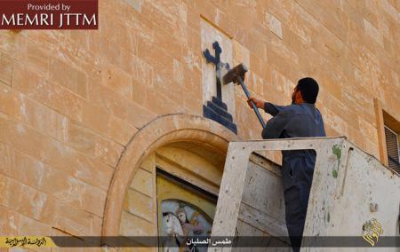 Demolarea unor biserici de către Statul Islamic (anetna3.ro)