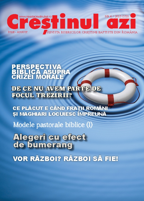 Revista Crestinul Azi - nr. 4 august 2015