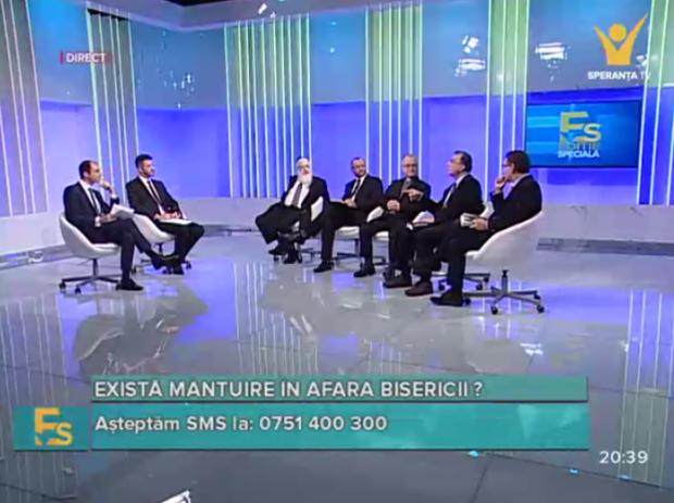 Dezbatere la Speranța TV  (19.11.2015) cu Octavian Baban