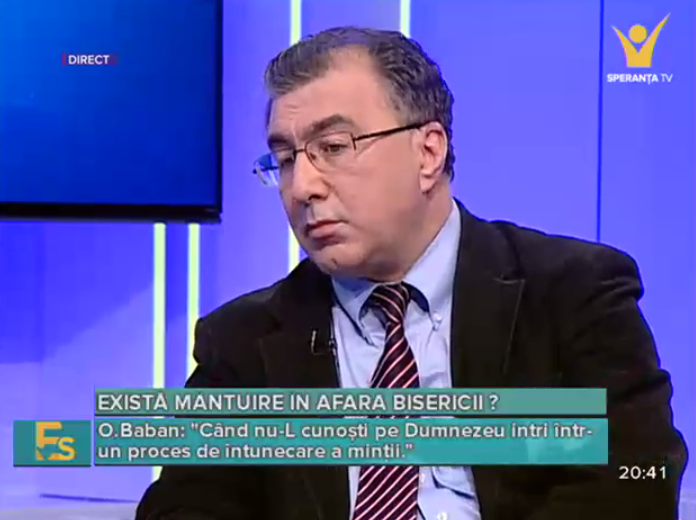 Octavian Baban la Speranța TV (19.11.2015)