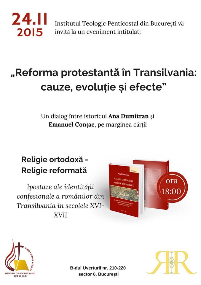 Reforma Protestantă în Transilvania