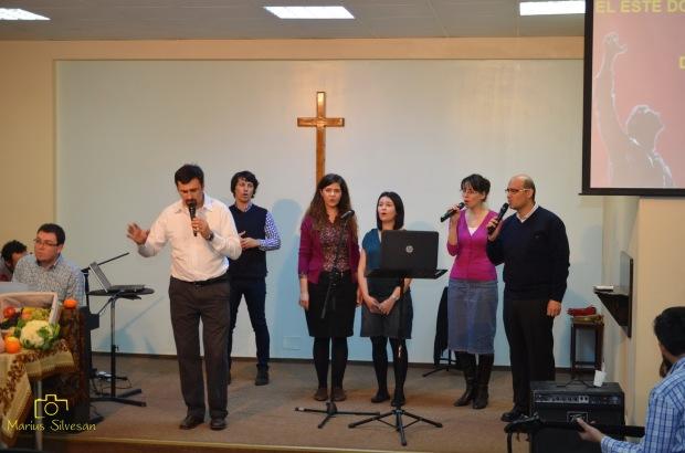 Echipa de închinare BCB Sfânta Treime din anul 2000