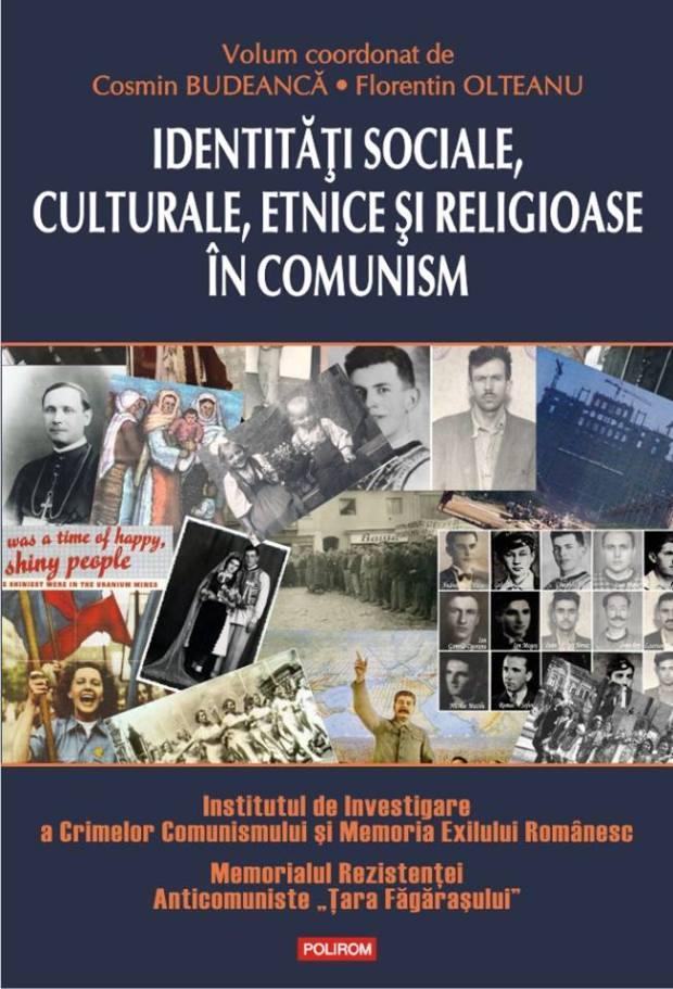 Identități sociale, politice și religioase în comunism (coperta 1)