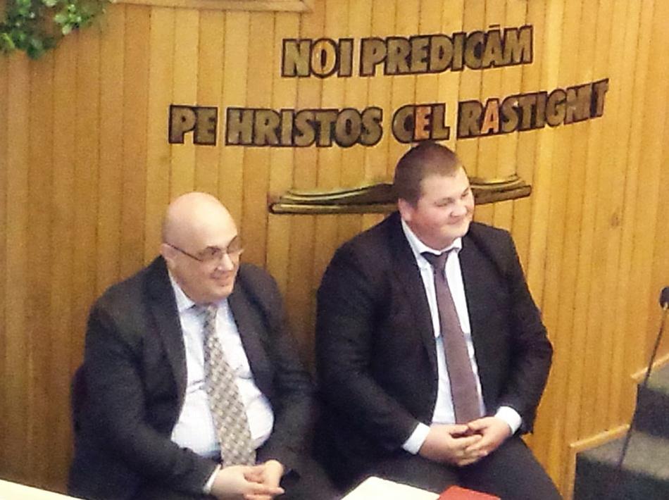Cătălin Vasile & Ovidiu Rusnac la BCB Nădejdea București (14.02.2016)
