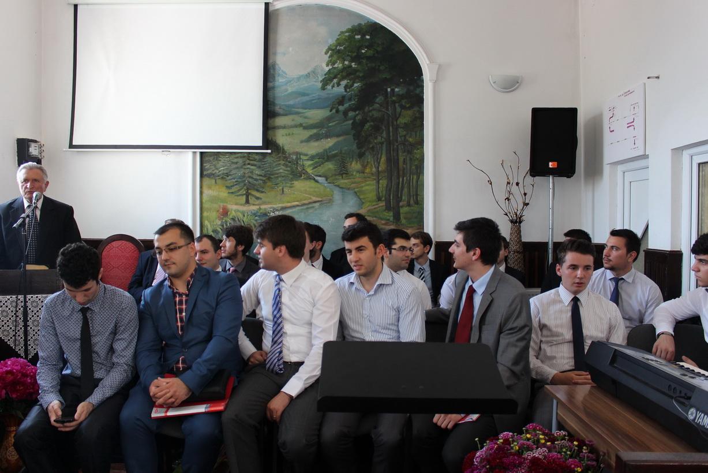 Corul, studenții ITBB (Ogrezeni, mai 2016)