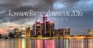 Romanian Baptist Convention 2016