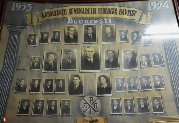 Absolvenții STB, promoția 1954 (1950-1954) cu Leric Ioan, Grec Traian, Românu Nicolae